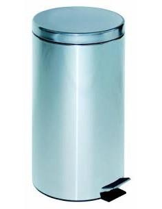 Papelera ( Cubo ) Pedal Metálica 20 litros. Medidas 47 cm. a