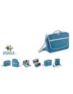 Maletín de asistencia sanitaria PRACTI´S (Azul)