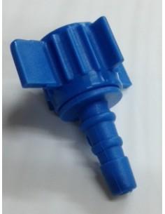 Pitón R916, ( Conector ), Plástico Azul para conexión direct