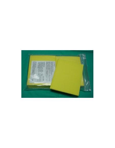 Pack 10 Bolsas ( ESPONJA ) Para Electrodos 120x80 mm.
