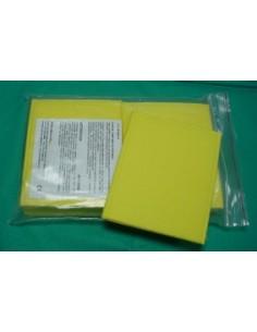 Pack 10 bolsas ( ESPONJA ) Para Electrodos 80x60 mm.