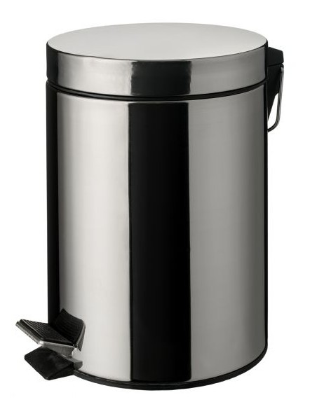 Papelera ( Cubo ) Pedal Metálica 12 Litros