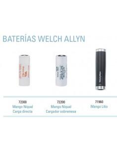 Bateria Recargable 3,5 Oftalmoscópio Welchl Allen (Negro)