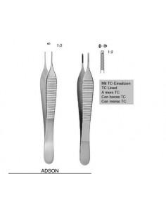 Pinza Disección ADSON Con Diente 1x2 12 cm. PK