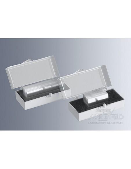 Cubre Objetos 24x60 mm. DECKGLASER Caja 100 unidades