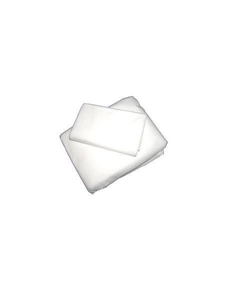 Sabanilla 75x200 cm. pp. 40 grs. BLANCA 100 unidades