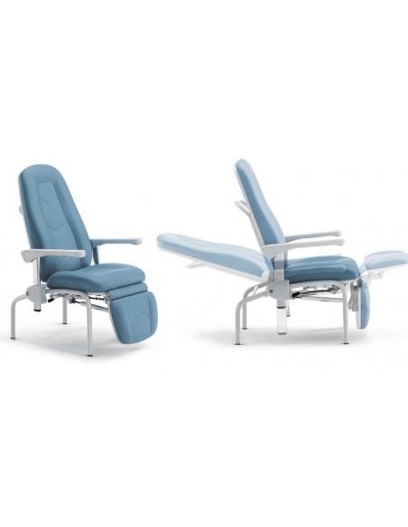 Sillón de Paciente/acompañante reclinable GIVAS, Mod. MR 50.