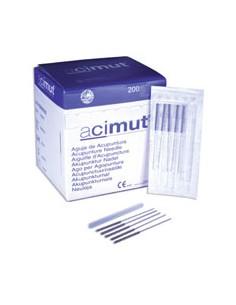 "Aguja de acupuntura estéril ""ACIMUT"" 0,20x30 mm sin cabeza c"