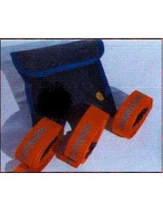 Juego 3 correas (cinturón) para uso general con cierre Clip