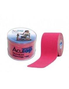 Venda Neuromuscular ACUTOP Rojo/Rosa 5cmx5cm