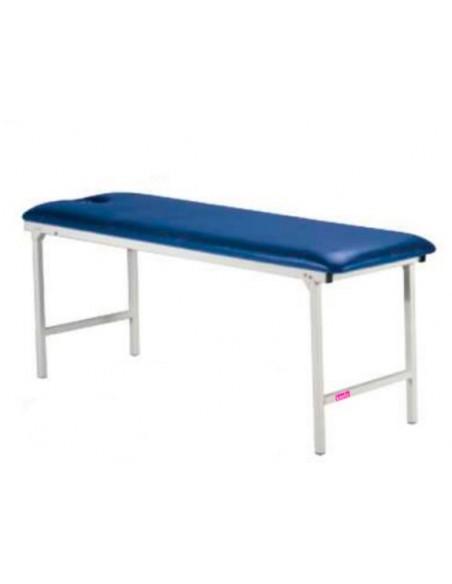 Camilla fija metálica de masajes 182x62x75 cm.