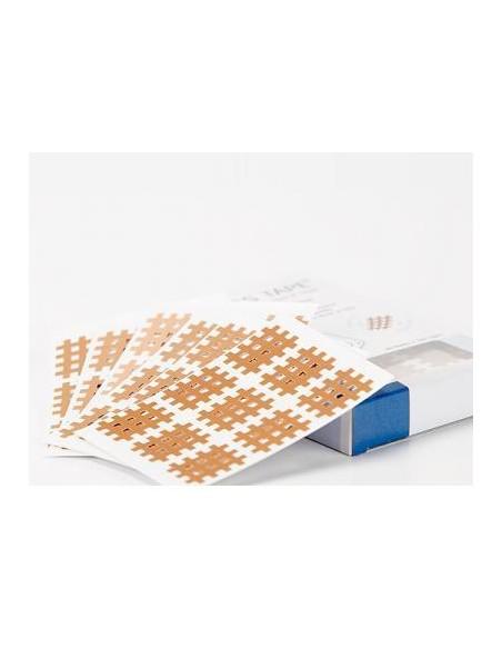 Cross Taping Pack de 20 laminas x 9u.- 180u. de 3 mm x 4 mm.