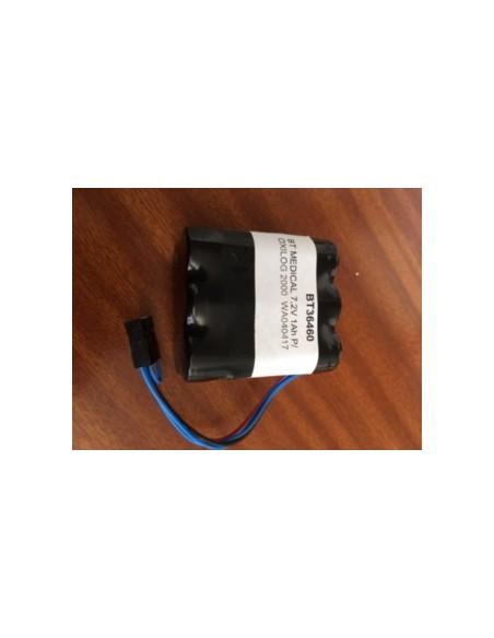 Bateria para respirador OXYLOG 2000 7,2V 1,1Ah .