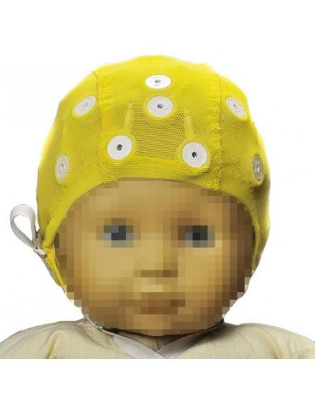 Cascos de electrodos ECI para EEG Pequeño Amarillo 50-54 cm
