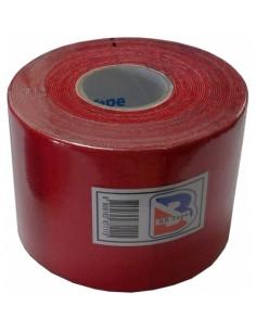 Venda Neuromuscular BB Tape Rojo 5cmx5cm
