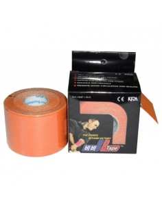 Venda Neuromuscular BB Tape Naranja 5cmx5cm