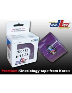 Venda Neuromuscular BB Tape Morado 5cmx5cm