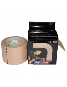Venda Neuromuscular BB Tape Beige 5cmx5cm