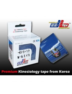 Venda Neuromuscular BB Tape Azul Oscuro 5cmx5cm