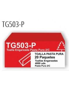 Toalla ZIG-ZAG Z-TISU GOFRADO doble capa 20 Paquetes x200 un