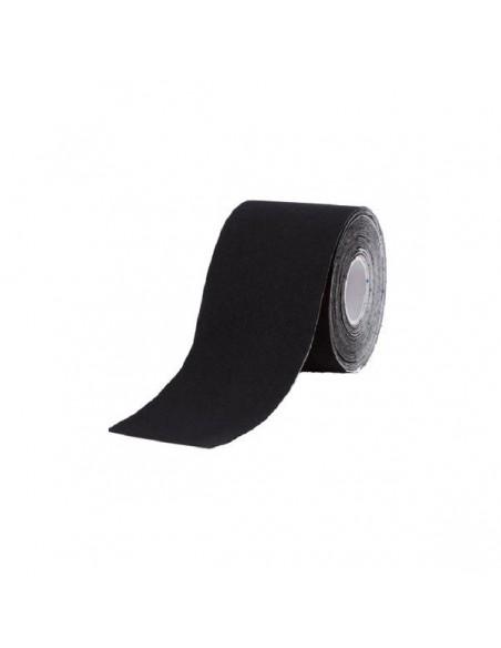 Venda Neuromuscular Terapéutica Tape Negra 5cm x 5 mts.