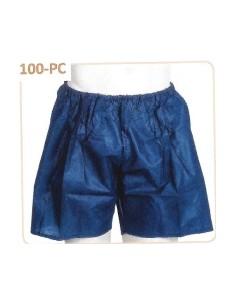 Pantalón Corto P.P. AZUL OSCURO sobre rodilla 45 Grs. Caja 1