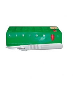 Bisturí Esteril Con mango nº 10 Caja 10 unidades