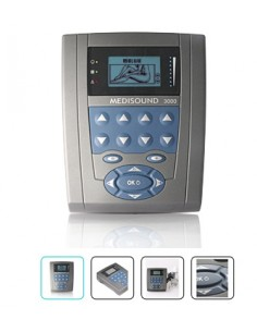 Ultrasonido Medisound 3000 1-3 MHz - 82 Programas
