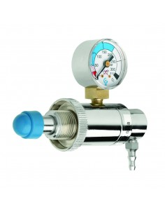 Caudalímetro Regulador para Botella Pequeña G101 Salida Fija