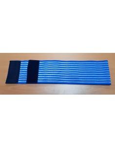 Faja AZUL Elástica 100x1000 mm.,( 10 cm.x 1 mts. ) Fijación