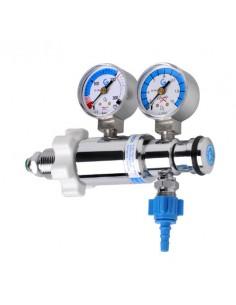 Caudalímetro Regulador para Botella Pequeña G102 Salida regu