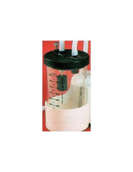 Botella Policarbonato 1 Litro Aspirador (V-AS60), Tapa compl