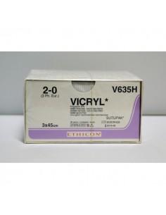 VICRYL 2/0 SUTUPACK Hebras pre-cortadas, Long. hebra 45 cm.,