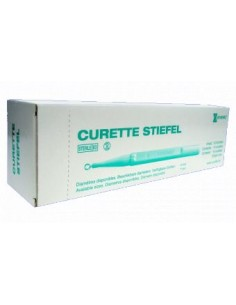 CURETA Dermatológica Cortante Desechable 4 mm.